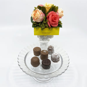 6 Piece Yellow Rose Box