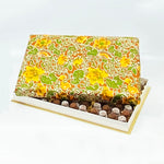 96 Piece Yellow Silk Box