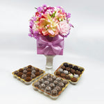 48 Piece Lavender Floral Box