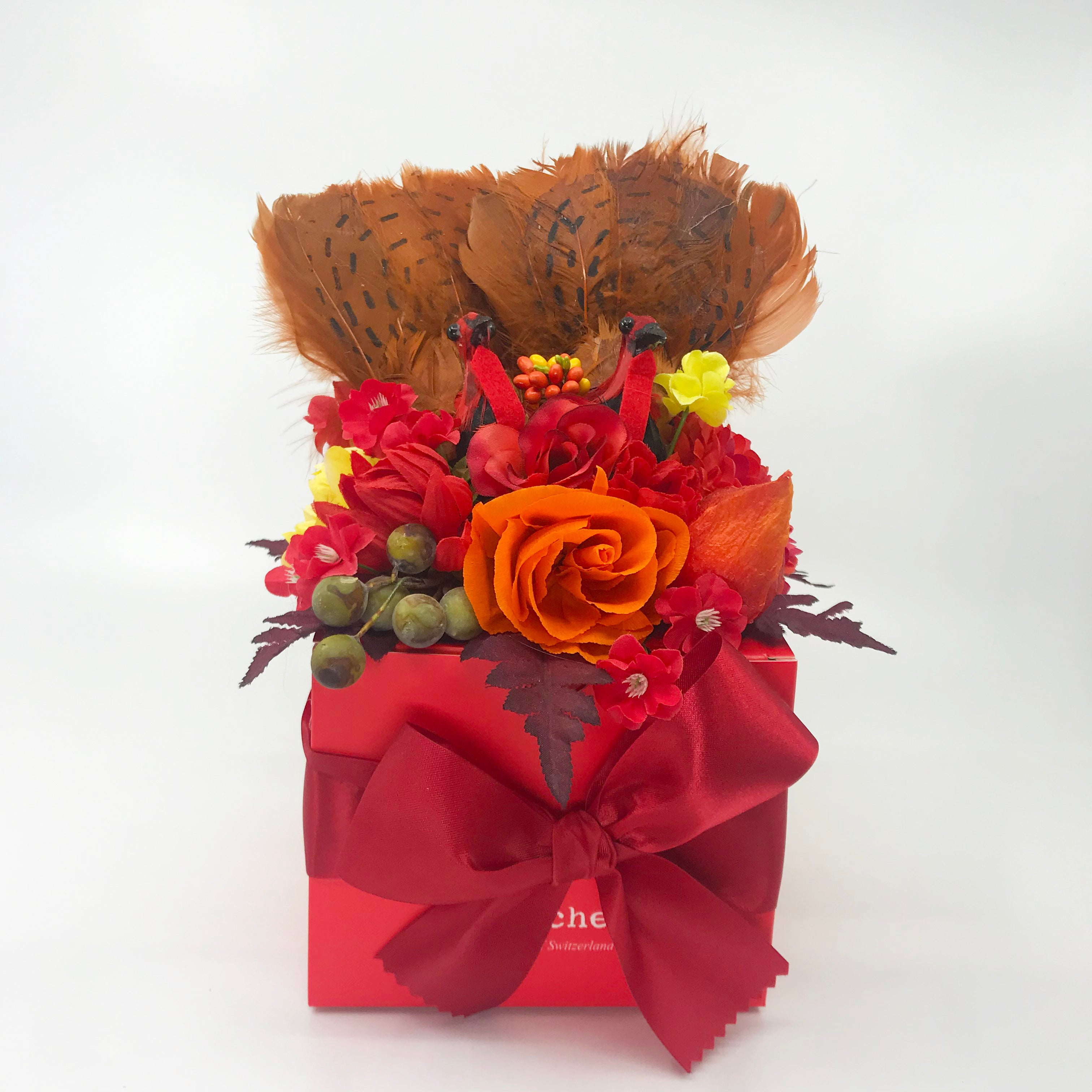 Large Thanksgiving Turkey Truffle Box