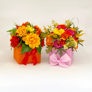 Large Fall Floral Boxes