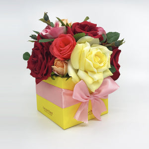 Floral Truffle Boxes