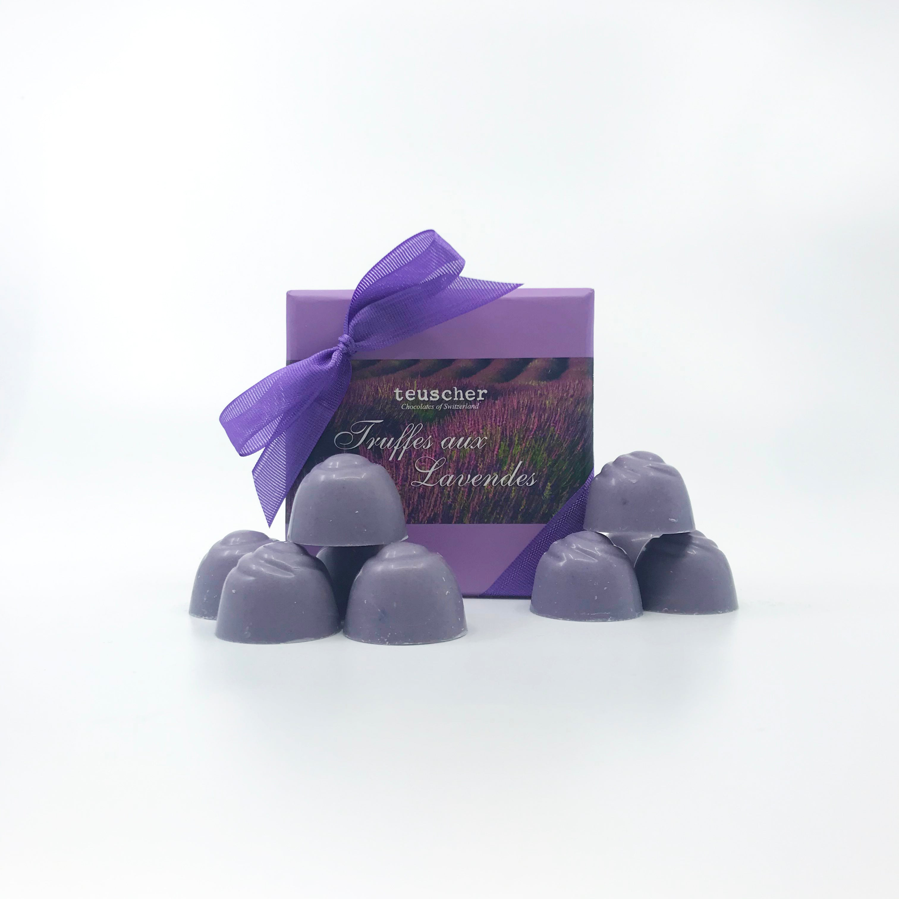 Four Piece Lavender Truffle Box