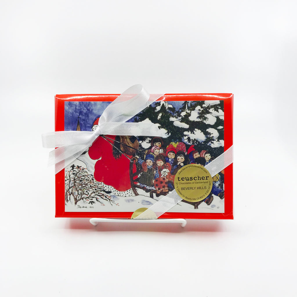 Postcard Praline Box