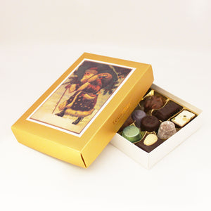 Santa Mixed Truffle and Praline Box