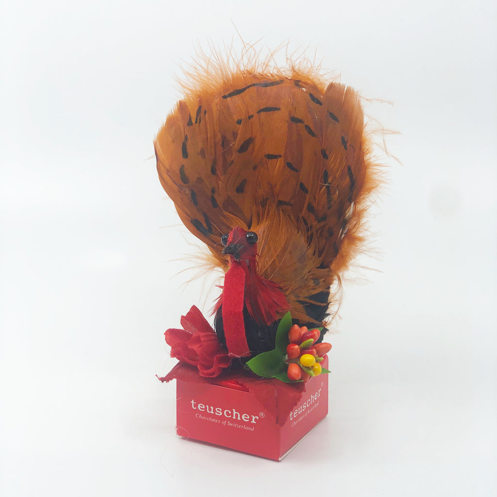 2 Piece Thanksgiving Turkey Praline Box