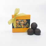 Four Piece Sauterne Wine Truffle Box