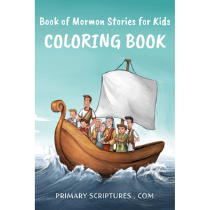 Book of Mormon Stories - Coloring Book for Volume 1