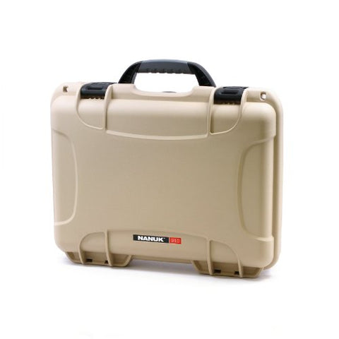 Nanuk 910 Professional Gun Case, Military Approved, Waterproof and Shockproof - Tan