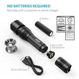 Anker Super Bright Tactical Flashlight, Rechargeable