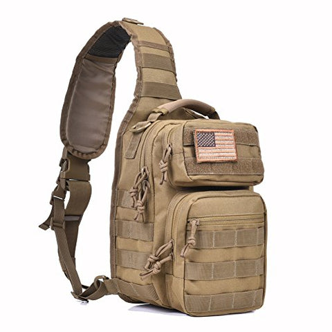 MOLLE Tactical Sling Bag Pack