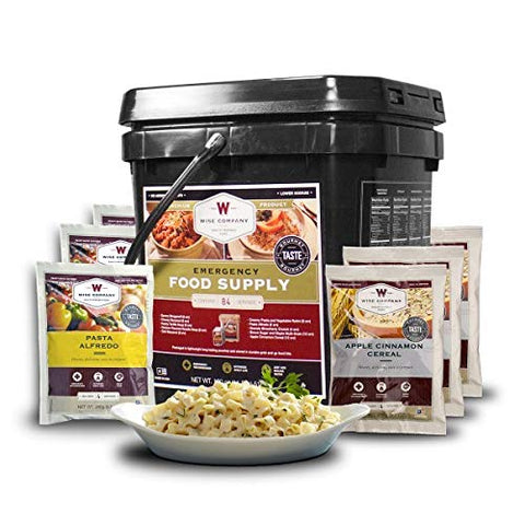 Wise Foods 84 Serving Breakfast/Entree Pack