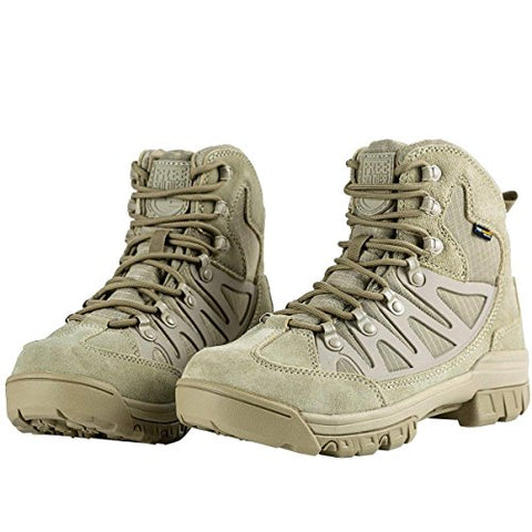 FREE SOLDIER Waterproof Mid Hiking Boots