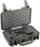 Pelican 1170 Pistol Case (for compact and subcompact guns) - Black