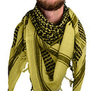 Mato & Hash Military Shemagh Tactical 100% Cotton Scarf Head Wrap - Sage CA2100-2