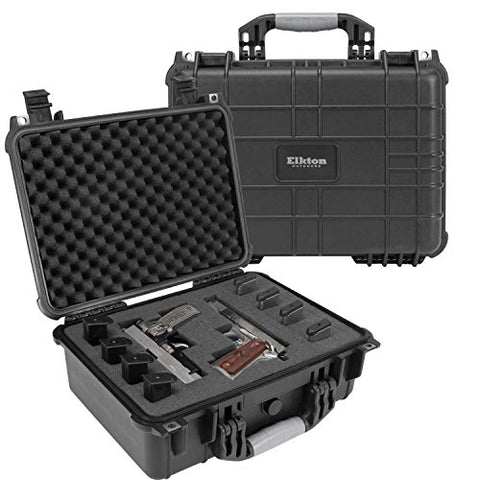 Elkton Outdoors Hard 4-Gun Case