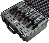 Case Club Waterproof 6-Hangun Case - TSA Approved