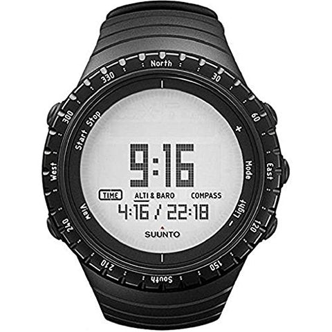 Suunto Core Black Digital Tactical Quartz Watch