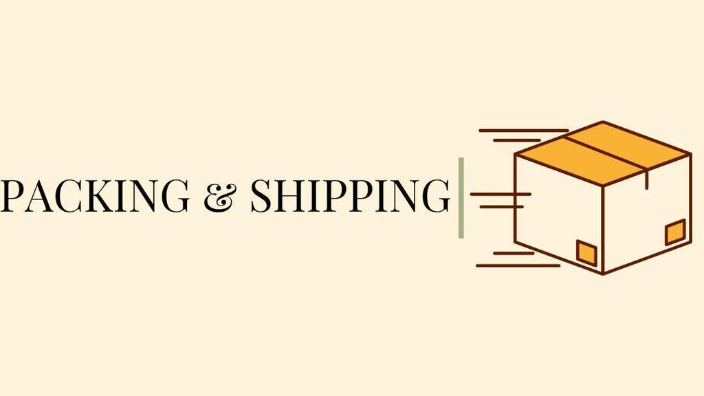 Packing & Shipping - Next Level Design Studio - nl-ds.com