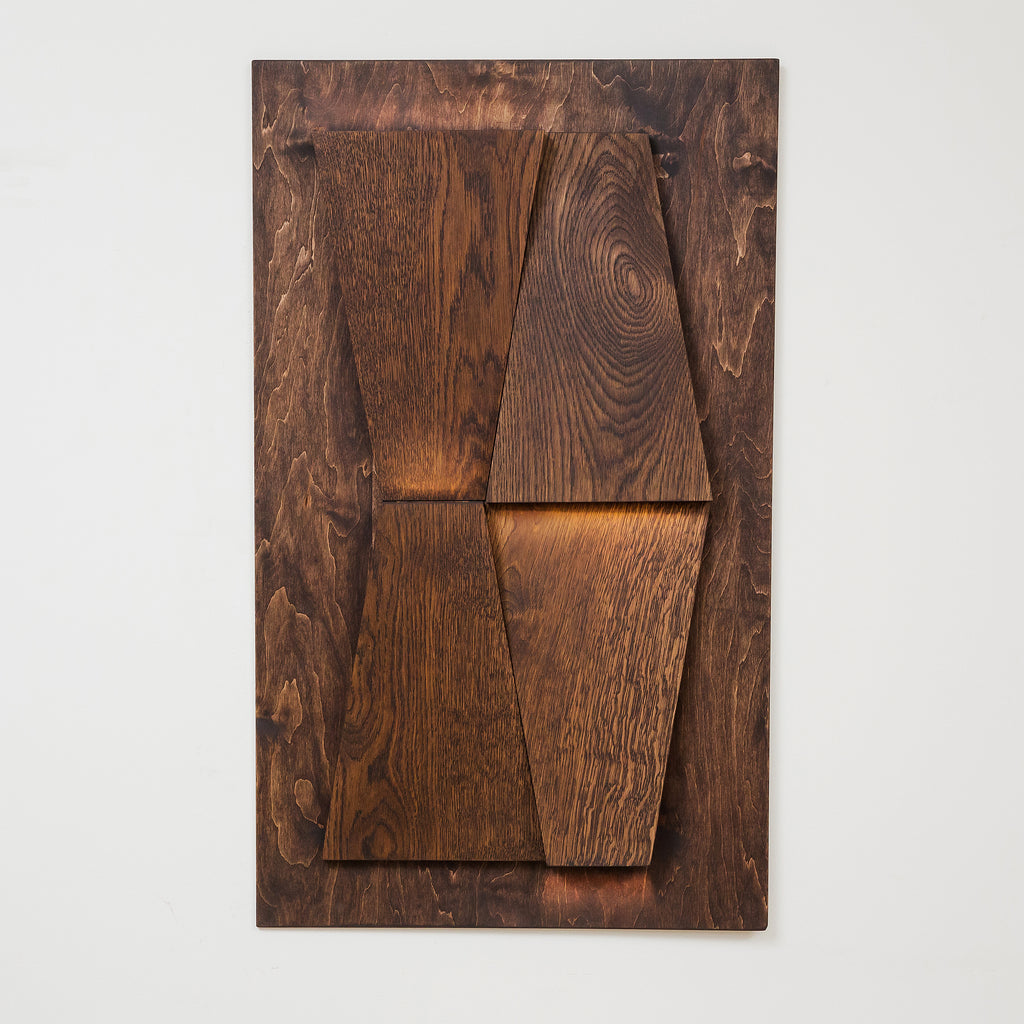 Wall wooden panel