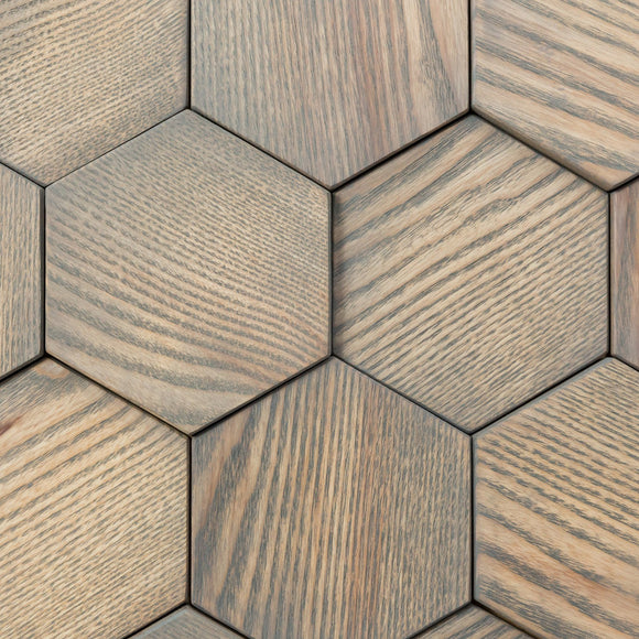 3D Wooden Mosaic Boston
