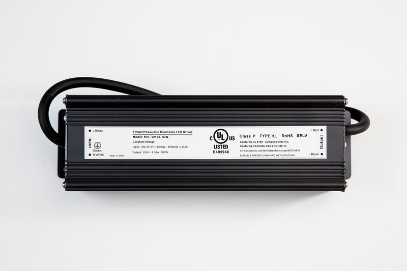 Dimmable UL listed LED driver (100-150W) - Next Level Design Studio - nl-ds.com