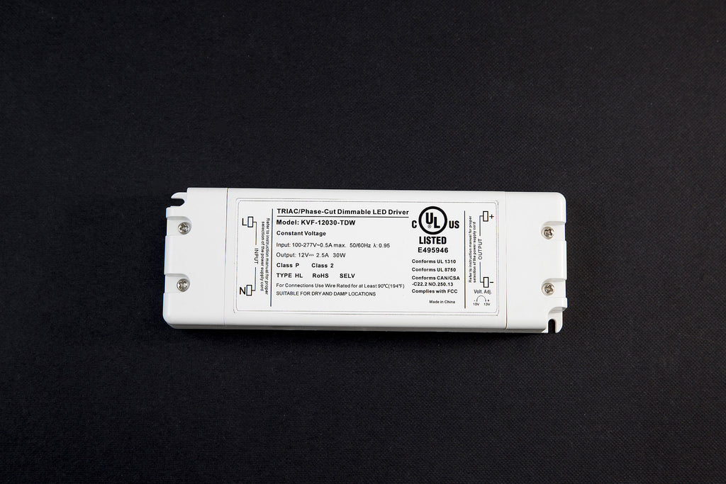 Dimmable UL listed LED driver (30W)