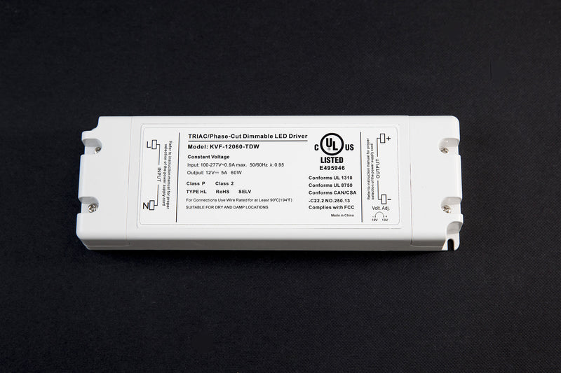 Dimmable UL listed LED driver (60-150W)