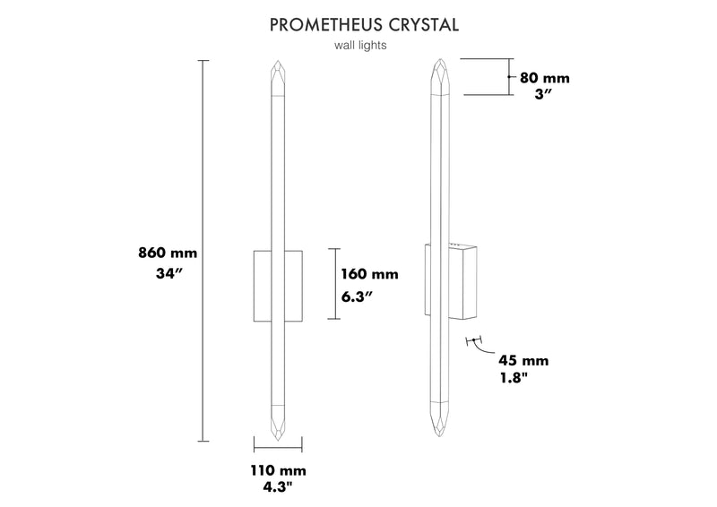 PROMETHEUS CRYSTAL - Next Level Design Studio  - chandeliers lighting