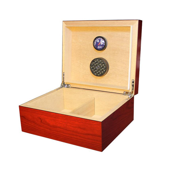 Equinox 50 Count Humidor Cherry