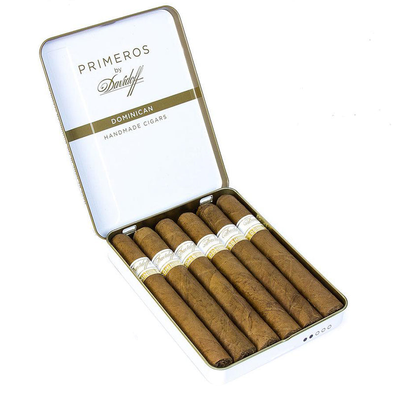 Davidoff Primeros - Natural (Tin of 6)