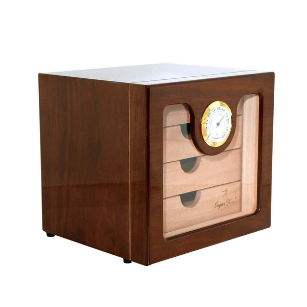Cigar Aficionado Executive Edge 2.0 Cigar Humidor