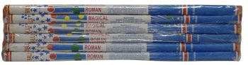 10 Ball Roman Candles (6 pack Import)