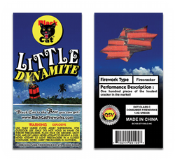 Little Dynamite - Black Cat