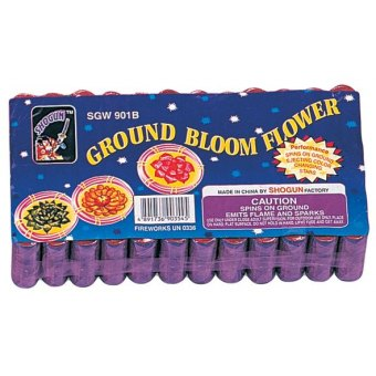 Brick of Ground Bloom Flowers (12 packs)