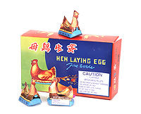 Hens laying Eggs (4 pack)
