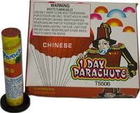 Single Day Parachutes (2 pack)