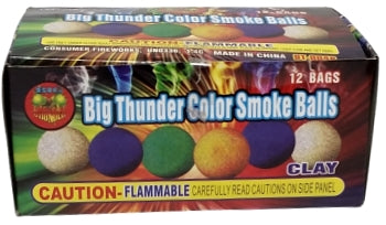 Color Smoke Balls