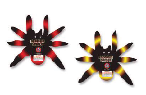 Poisonous Spiders (2 pack)