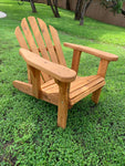 Adirondack Chair with adjustable back - Cedar