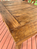 Rustic Deck Table