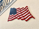 Wood American Flag - Made in the USA