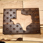 Texas Stars with Walnut and Maple