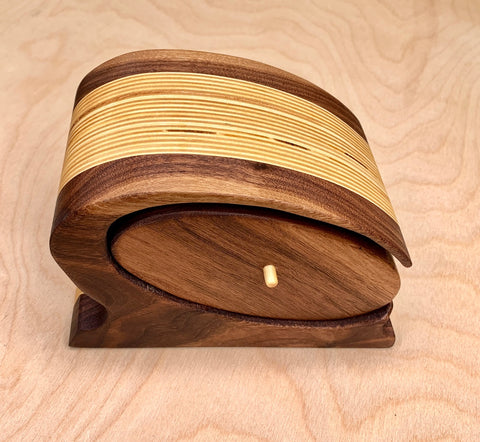 C-Bandsaw Box - Made with Walnut