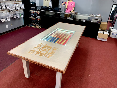 Custom Retail Store Table for - On Your 6 Designs