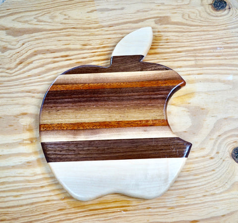 Apple Cutting board/serving tray