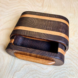 Oval Walnut Bandsaw Box