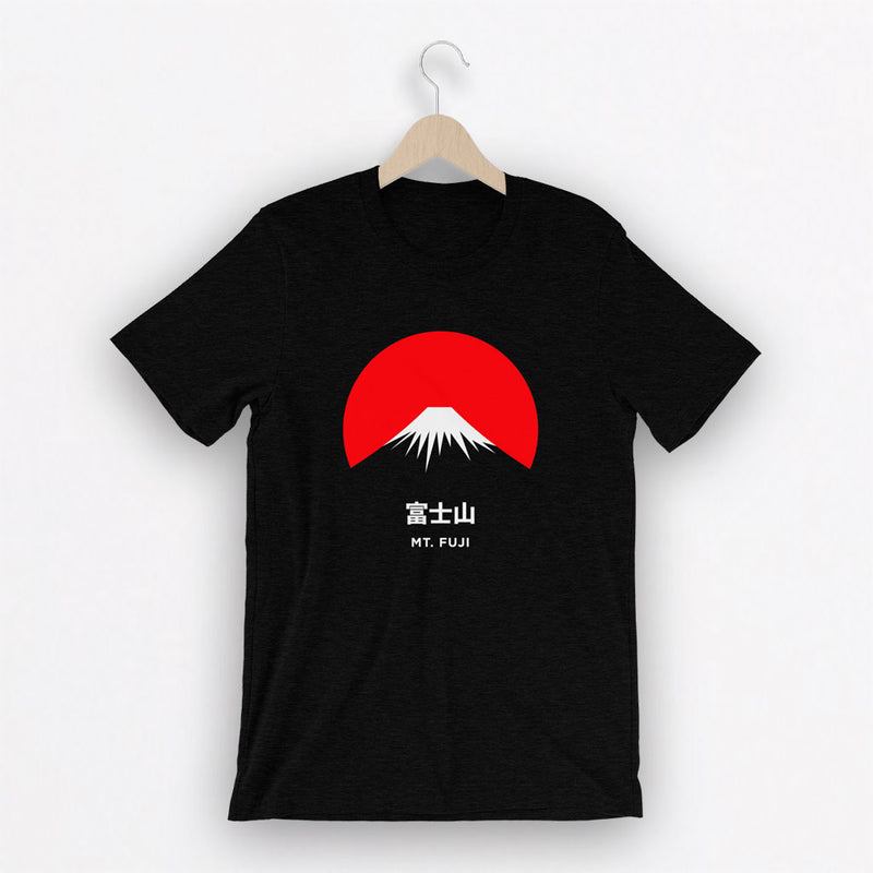 Camiseta Unisex Mt. Fuji Black Heather