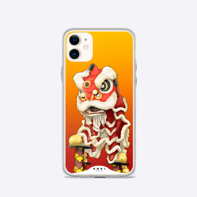 Lion Dance (iPhone Case) - Saki Deizan