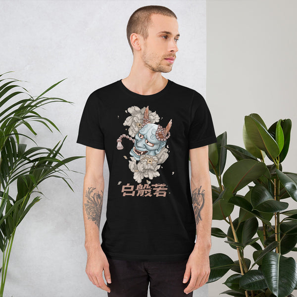 Hannya Mask Colour (Unisex T-Shirt)